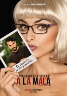 A la mala - Mexican Movie Poster (xs thumbnail)