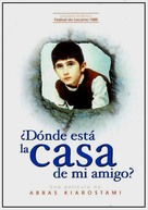Khane-ye doust kodjast? - Spanish Movie Poster (xs thumbnail)