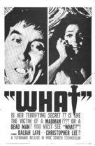 La frusta e il corpo - poster (xs thumbnail)