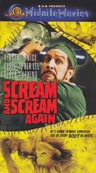 Scream and Scream Again - VHS cover (xs thumbnail)