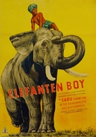 Elephant Boy - German Movie Poster (xs thumbnail)