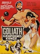Il terrore dei barbari - Danish Movie Poster (xs thumbnail)
