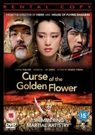 Curse of the Golden Flower - British DVD movie cover (xs thumbnail)