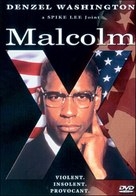 Malcolm X - DVD movie cover (xs thumbnail)