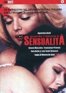 Quando l'amore è sensualità - Italian DVD movie cover (xs thumbnail)