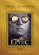 The Aviator - Czech DVD cover (xs thumbnail)