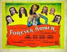 Forever Amber - British Movie Poster (xs thumbnail)