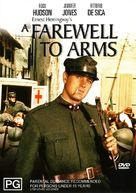 A Farewell to Arms - Australian DVD cover (xs thumbnail)