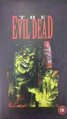 The Evil Dead - British VHS cover (xs thumbnail)