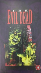 The Evil Dead - British VHS movie cover (xs thumbnail)