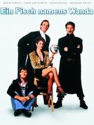 A Fish Called Wanda - German DVD cover (xs thumbnail)