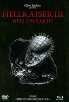 Hellraiser III: Hell on Earth - German DVD cover (xs thumbnail)