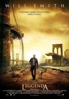 I Am Legend - Italian Movie Poster (xs thumbnail)