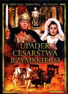 The Fall of the Roman Empire - Polish Movie Cover (xs thumbnail)