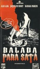The Mephisto Waltz - Brazilian VHS cover (xs thumbnail)