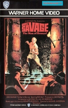 Doc Savage: The Man of Bronze - Finnish VHS cover (xs thumbnail)