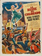 The Unsinkable Molly Brown - French Movie Poster (xs thumbnail)