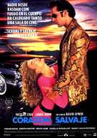 Wild At Heart - Spanish Movie Poster (xs thumbnail)
