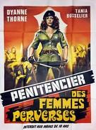 Greta - Haus ohne Männer - French Movie Poster (xs thumbnail)