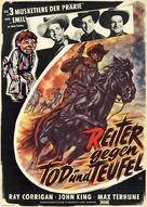 Boot Hill Bandits - German Movie Poster (xs thumbnail)
