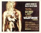 Goldfinger - British Movie Poster (xs thumbnail)