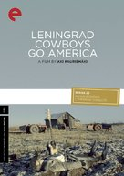 Leningrad Cowboys Go America - DVD cover (xs thumbnail)