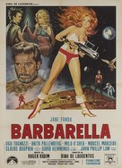 Barbarella - Italian Movie Poster (xs thumbnail)