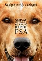 A Dog's Purpose - Croatian Movie Poster (xs thumbnail)