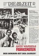Flesh for Frankenstein - German Movie Poster (xs thumbnail)