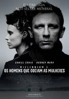 The Girl with the Dragon Tattoo - Portuguese Movie Poster (xs thumbnail)