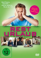 Resturlaub - German DVD cover (xs thumbnail)