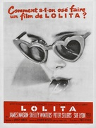 Lolita - French Movie Poster (xs thumbnail)