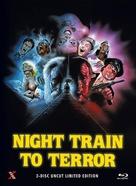 Night Train to Terror - German Blu-Ray cover (xs thumbnail)