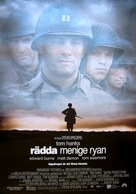 Saving Private Ryan - Swedish Movie Poster (xs thumbnail)