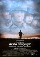 Saving Private Ryan - Swedish Movie Poster (xs thumbnail)