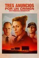 Three Billboards Outside Ebbing, Missouri - Argentinian Movie Cover (xs thumbnail)