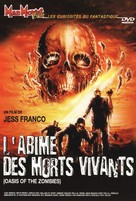 L'abîme des morts vivants - French DVD cover (xs thumbnail)