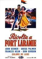 Revolt at Fort Laramie - Italian Movie Poster (xs thumbnail)