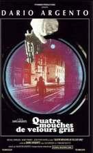 4 mosche di velluto grigio - Italian Movie Poster (xs thumbnail)