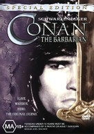 Conan The Barbarian - Australian DVD cover (xs thumbnail)