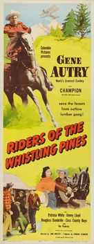 Riders of the Whistling Pines - Movie Poster (xs thumbnail)