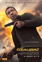 The Equalizer 2 - Australian Movie Poster (xs thumbnail)