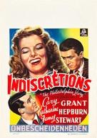 The Philadelphia Story - Belgian Movie Poster (xs thumbnail)