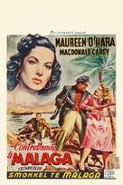 Malaga - Belgian Movie Poster (xs thumbnail)