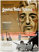 Il generale della Rovere - Danish Movie Poster (xs thumbnail)