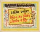 When My Baby Smiles at Me - British Movie Poster (xs thumbnail)