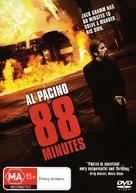 88 Minutes - Australian DVD cover (xs thumbnail)
