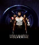 X-Men Origins: Wolverine - Slovenian Movie Cover (xs thumbnail)