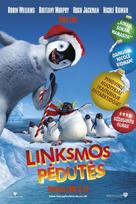 Happy Feet - Lithuanian Movie Poster (xs thumbnail)