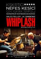 Whiplash - Turkish Movie Poster (xs thumbnail)